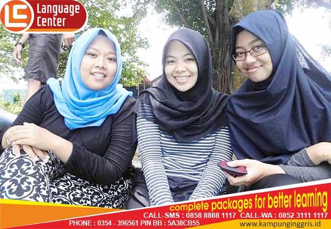 I Feel Enjoyed in LC (Sri Mutia from Universitas Pakuan Bogor)