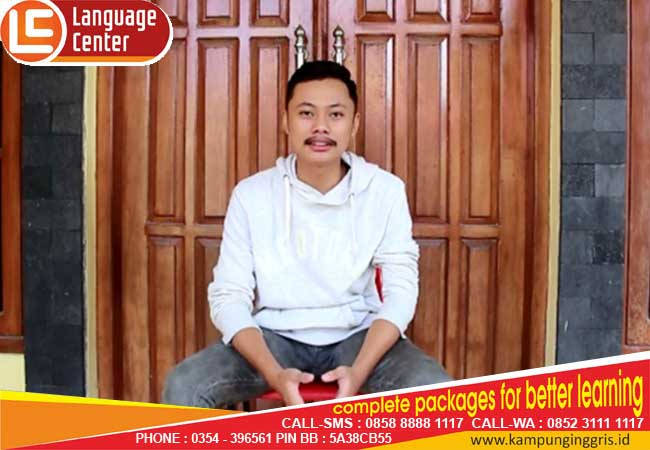 LC's tutors are so great and have a good ability (Denis Rizki Alamsyah from Bandung)