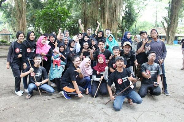 Outbound English Master Class LC Kampung Inggris Pare, Sarana untuk Membangun Teamwork yang Lebih Solid