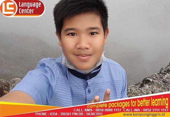 Pengen rasanya semester depan ke sini lagi (M. Hafizh Azzumar from Bengkulu)